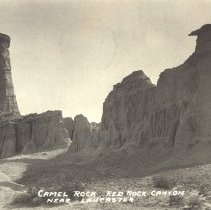 Image of Camel Rock, Near Lancaster, California -