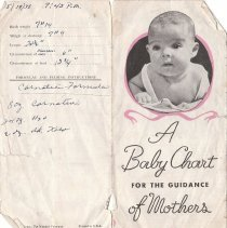 Image of Baby Chart for Donald Edwin Lewis -