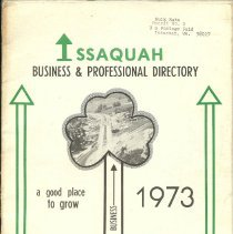Image of Issaquah Business & Professional Directory 1973 -