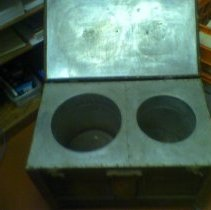 Image of Hot Box, Thermal, (aka Fireless Stove) for Carrying Lunches to Work Crews -