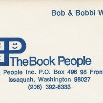 Image of Business Card: The Book People -
