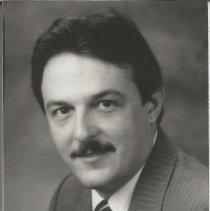 Image of Bust shot of Delmar (Del) Jones - Issaquah Press Collection