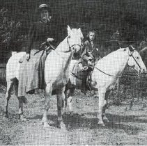 Image of Bessie Wilson with Friend, Going Riding -