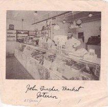 Image of John Fischer Market Interior -