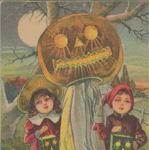 """Image of """"On Halloween the Ghost is Seen"""" -"""