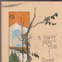 """Image of """"A Happy New Year"""" - Wold Collection"""