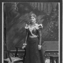 Image of Unknown Woman with Long Dress -