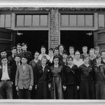 Image of School- Sophomore Class 1918-1919 -