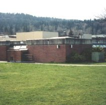 Image of Police addition to old Issaquah City Hall -