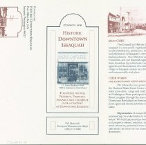 Image of Council for Historic Downtown Issaquah Brochure -