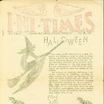 """Image of """"I-HI-TIMES""""  from Issaquah High, October 30,1936 -"""