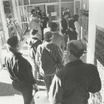Image of Issaquah Post Office: Standing in Line - Issaquah Press Collection