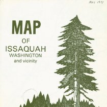 Image of Map of Issaquah Washington and vicinity, 1977 -