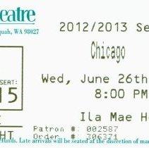 Image of Village Theatre Ticket: Chicago -