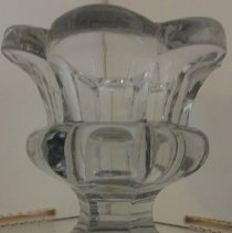 Image of Large Glass Saltcellar - Lucy Stevenson Collection