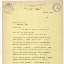 Image of Letter from Unknown to the Neukirchen Brothers. June 6, 1914. - Jim Frederickson Collection