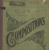 Image of Ferol Tibbetts' Diary - Book IV - Ferol Tibbetts Collection