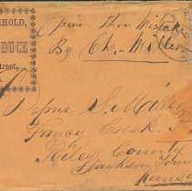 Image of Envelope: Miller and Heichhold to Depue S. Miller, May 6, n.y. - Lucy Stevenson Collection
