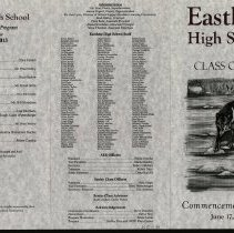 Image of Eastlake High School 2013 Commencement Program -