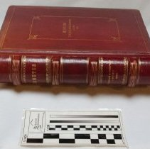 Image of Book of meeting minutes from 1919 to 1932.