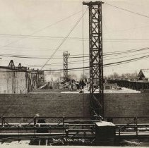 Image of Construction at T.M Sinclair & Co., 1917.