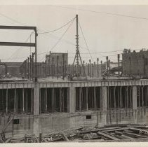 Image of Construction at T.M Sinclair & Co., 1929.