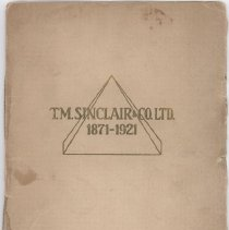 Image of Pamphlet on the history of T. M. Sinclair & Co, Ltd.