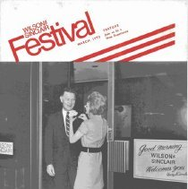 Image of Festival magazine published by Wilson-Sinclair for employees.