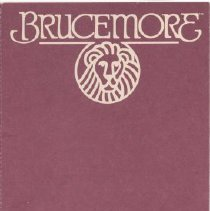Image of Brochure about becoming a member of Historic Brucemore.