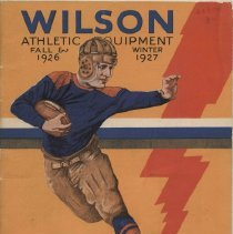 Image of Wilson's Athletic Equipment Fall 1926 and Winter 1927