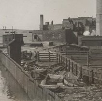 Image of Flooding at T.M. Sinclair & Co., March 1929.