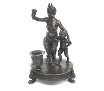 Image of Satyress with Child Satyr