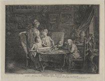 Image of Cabinet d'un peintre (The Artist and his Family)