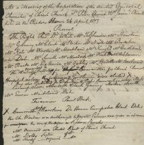 Image of Draft meeting minutes. - 1811-1813