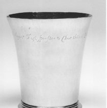 Image of Ghiselin beaker - 1732