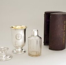 Image of Traveling communion set - 1850