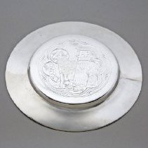Image of Communion paten - c. 1940