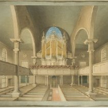 Image of Interior of Christ Church - 1837
