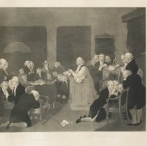 Image of First Prayer in Congress - 1853