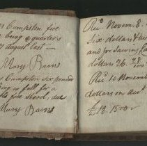 Image of receipt book
