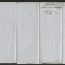 Image of Correspondence and other records - 1845