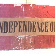 "Image of c-4, CSA 1st National, ""Independence or Death"""