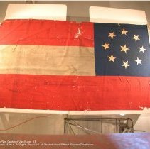 Image of C-12, overview, Garrison Flag