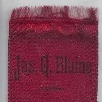 Image of 163.49 J.G. Blaine ribbon
