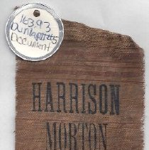 Image of 163.93 Harrison Morton Lacey ribbon