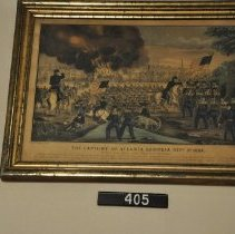Image of 405 Print - Capture of Atlanta
