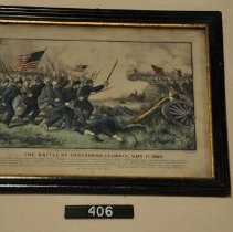 Image of 406 Print - Battle of Jonesboro