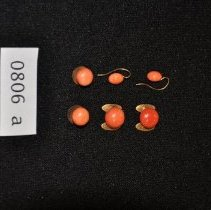Image of Earrings & Collar Buttons 806 a