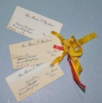 Image of 948.17 Business cards - Marie Basham, WRC
