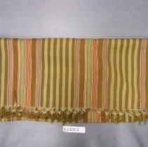 Image of 2053 Striped shawl